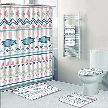 prunushome 5 tlg. Badezimmer Set-ethnicdecorative Bad Elemente für ...