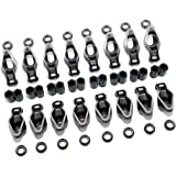 Assault Racing Products 3501538 SBC Small Block 305 350 400 Chevy Roller Tip Rocker Arms 1 5 Ratio 3 8 Polylocks