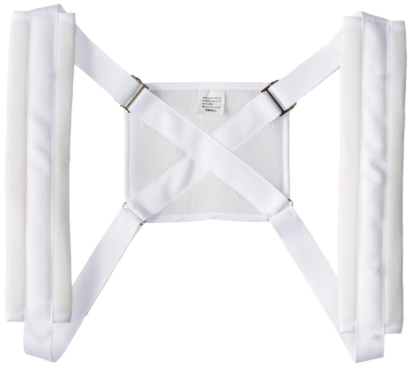 Bilt-Rite Mastex Health Clavicle Support, White, Small