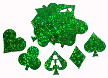 Green poker card suits holographic self adhesive sticker green poker card suits holographic self adhesive sticker invitation card making toppers stopboris Images