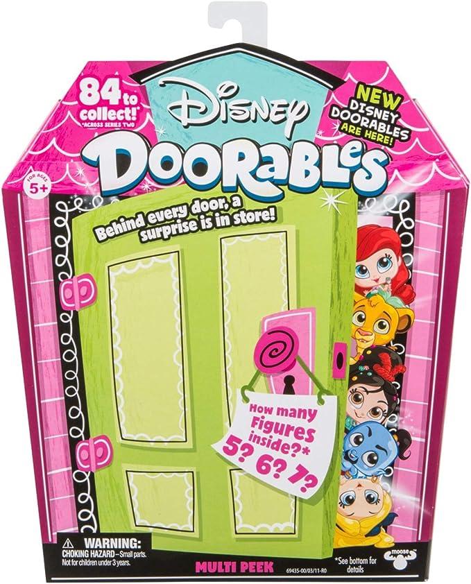 Multi Peek and Mini Peek Mystery Bundle MOOSE TOYS Disney Doorables Season 2 Mini Stack Playset Jasmines Royal City