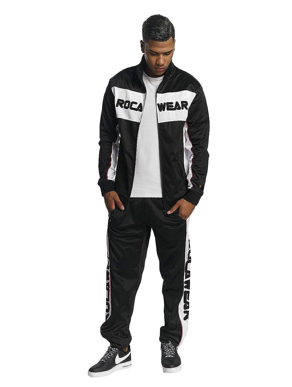 Rocawear Herren Jogginganzug Anzug Sports RWS002BLK schwarz Schwarz