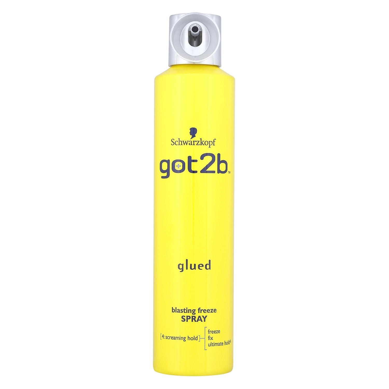 Schwarzkopf got2b Glued Blasting Freeze Spray 300ml (Pack of 2) BeautyLand 1253026