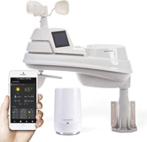 AcuRite Iris (5-in-1) 01014M Weather Station with AcuRite Access for Remote Monitoring, Compatible with Amazon Alexa