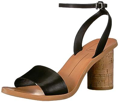 e85e133c97 Dolce Vita Women's Jali Sandal, Black Leather, ...