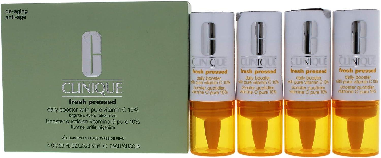 Clinique - Potenciador fresh pressed daily booster vitamina c: Amazon.es: Belleza