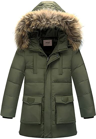 5b9b5217b ZOEREA Boys Warm Down Jacket Kids Winter Coat Hooded Thicken Outfits ...