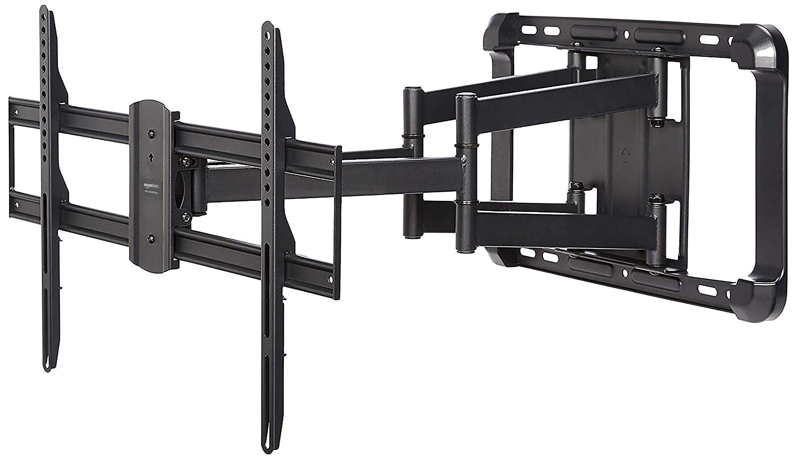 AmazonBasics Longer Extension Dual Arm Full Motion TV Mount, 37-Inch to 80-Inch by AmazonBasics