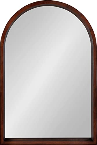 Kate and Laurel Hutton Arch Mirror, 24×36, Brown