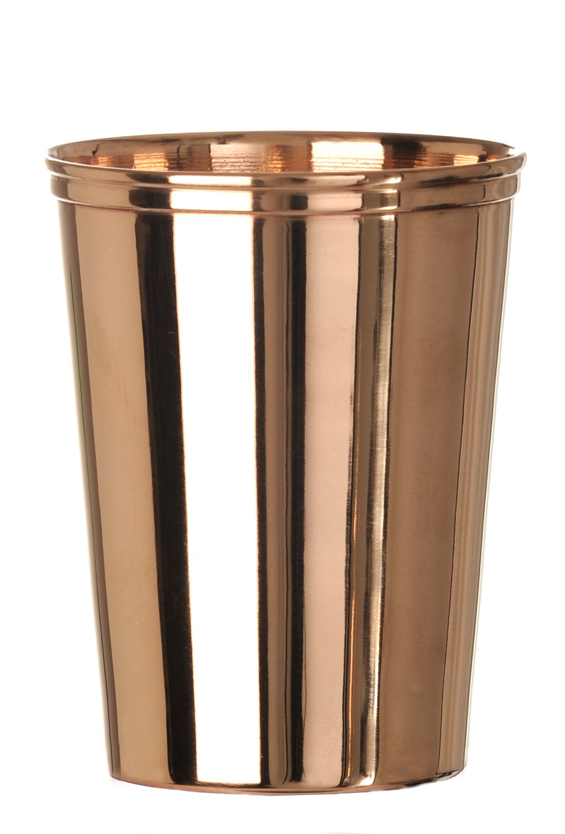 Insideretail Pure Copper Cup 'Tumbler' (Set of 12), 105mm, Gold