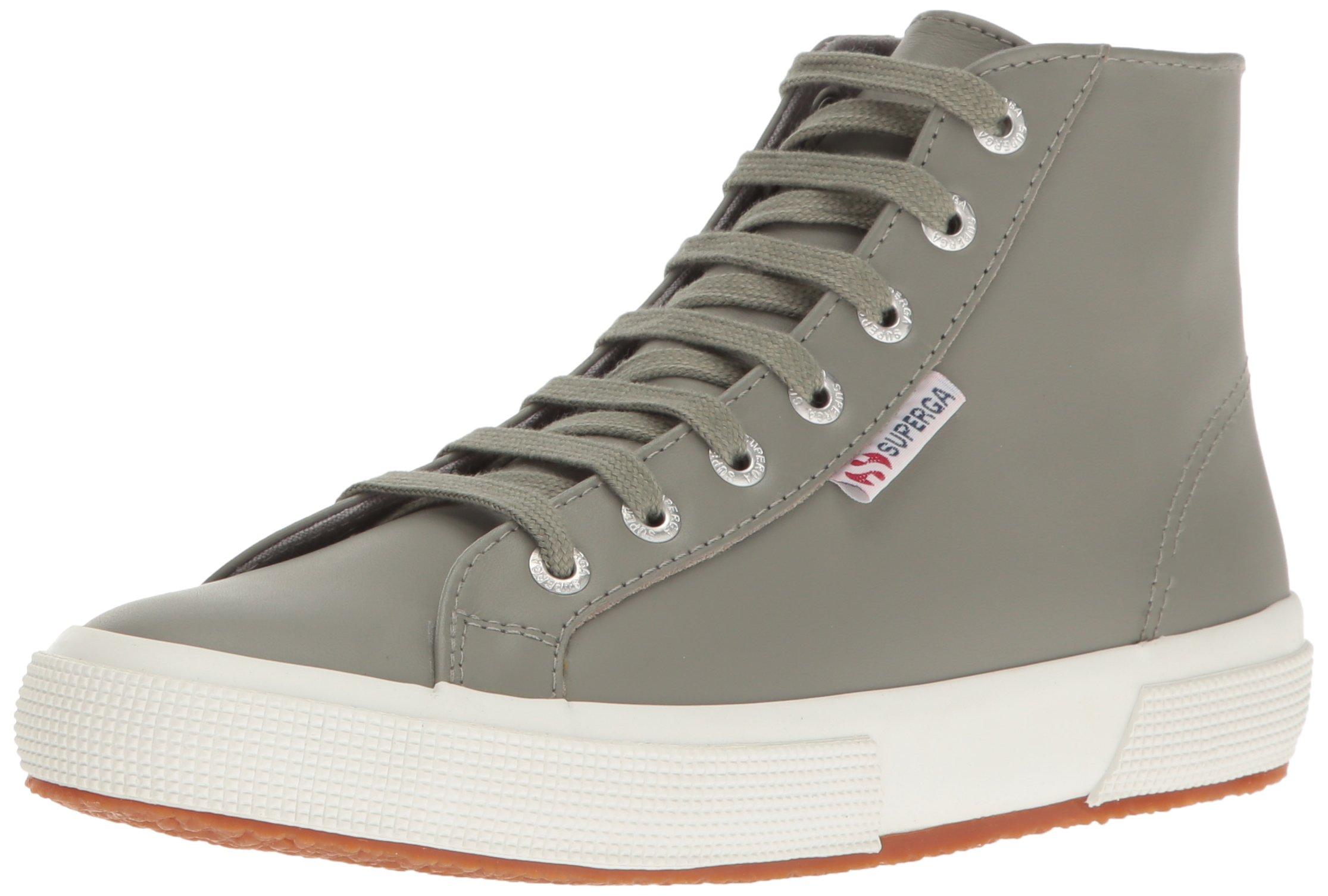 Superga Women's 2795 Fglu Fashion Sneaker, Grey Sage, 41 EU/9.5 M US
