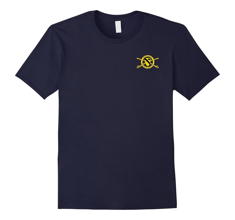 1st Cavalry Crossed Sabers Logo Tshirt-TH