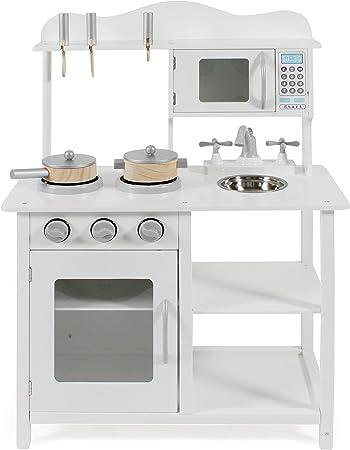Bayer Chic 2000 301 20 Cucina Giocattolo Con Accessori Colore Bianco Amazon It Giochi E Giocattoli