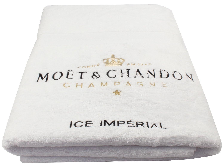 Moet Chandon White Beach Towel