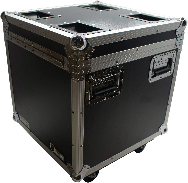 Harmony HCUT2222W Pro Audio Touring 22 x 22 x 22 Utility Road Trunk Case Wheels