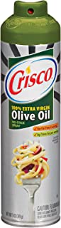 product image for Crisco Olive Oil No-Stick Cooking Spray, 5-Ounce Aerosol Cans (Pack of 6)