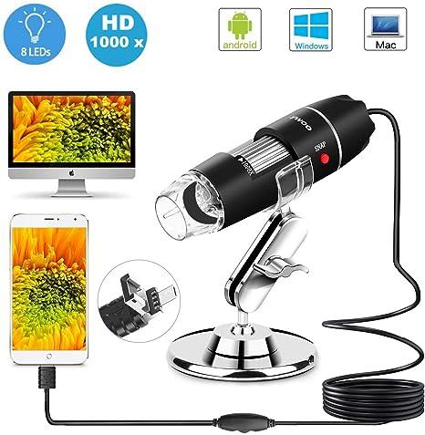 Usb Microscope 1000x Zoom 8 Led Usb 2 0 Digital Mini Camera Photo