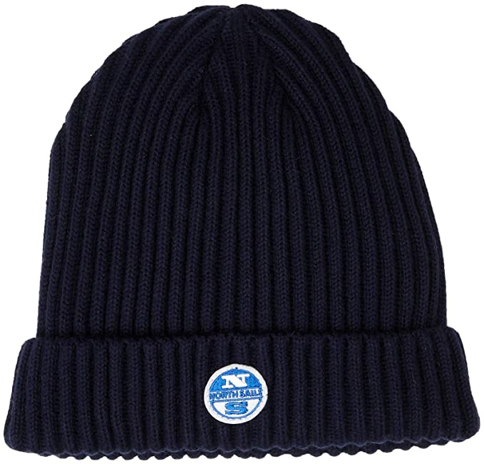 North Sails Maniche Grosso Costine Beanie Realizzato in Misto Lana - OS   Amazon.it  Abbigliamento d2c264cd1529