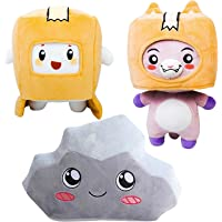 3 Pcs Cartoon Plush Toy Soft Stuffed Foxy Boxy Rocky Plush Doll Great Collections For Kids And Fans