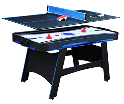 Hathaway Bandit 5 Air Hockey Table 60 L X 30 W X 31 5 H Black
