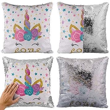 Amazon.com: Funda de almohada con diseño de unicornio de ...