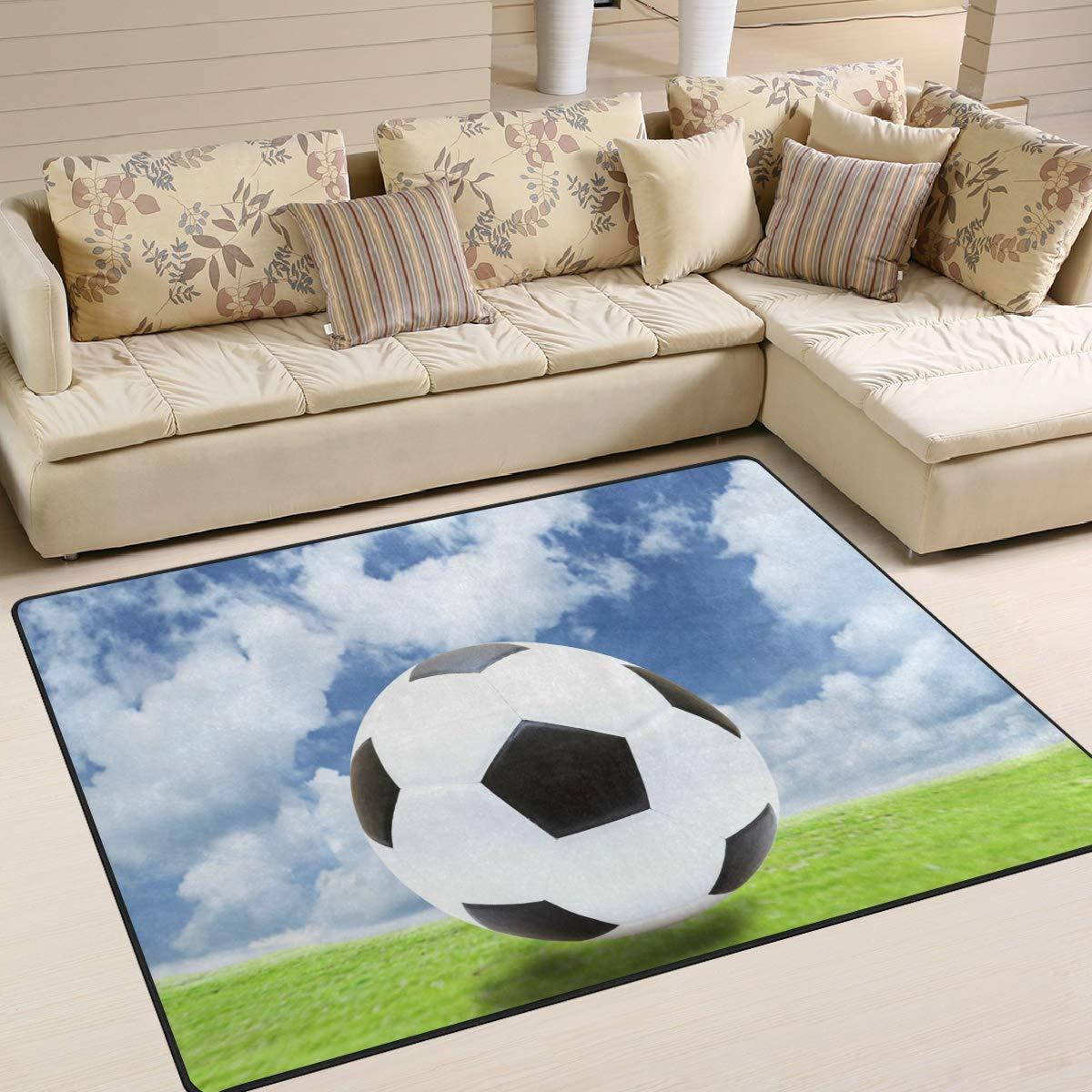 Use7 - Alfombra para Sala de Estar, Dormitorio, diseño de balón de ...