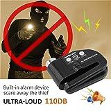 Omotor Disc Lock Alarm Motorcycle Alarm Padlock
