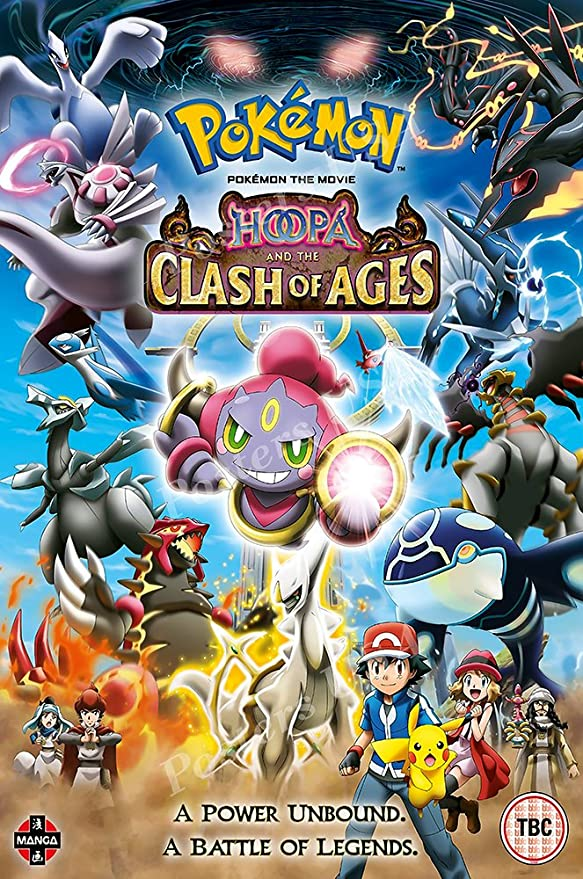 Amazon Com Posters Usa Pokemon Hoopa And The Clash Of Ages Movie Poster Glossy Finish Mov344 16 X 24 41cm X 61cm Posters Prints