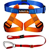 Fusion Climb Kids Backyard Zip Line Kit Harness Lanyard Bundle FK-K-HL-01
