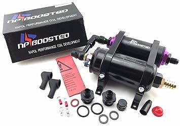Bomba de combustible 300LPH 044 Kit w/soporte de montaje & Inline filtro de combustible