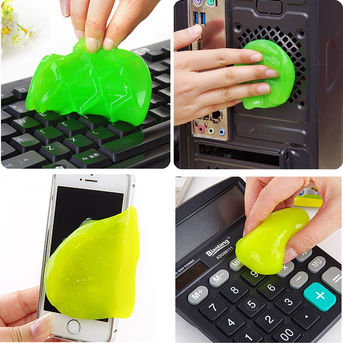 Miaoo Magic strumento di pulizia per i computer portatili e polvere (colore casuale)
