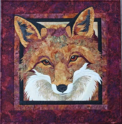 Red Fox Wildlife Toni Whitney Fusible Applique Quilting Quilt
