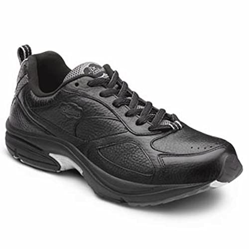 Dr. Comfort Winner Plus Men's Therapeutic Diabetic Extra Depth Shoe: Black 6 Medium (B/D) Lace