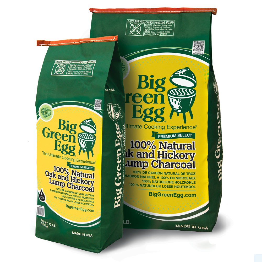 BIG EGG GREEN Big Green Egg Sac de Charbon, 4,53 kg 110503