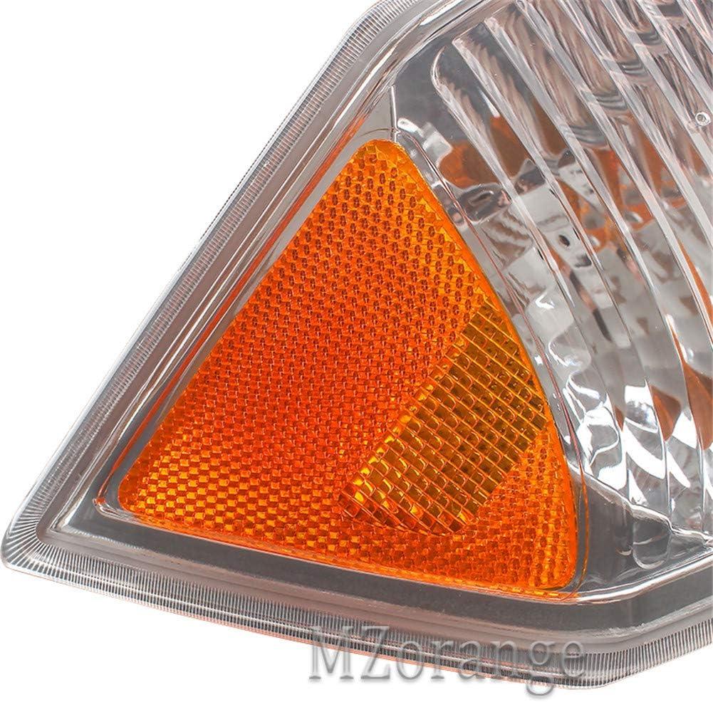MZORANGE Turn Signal Light For Jeep Compass 2007 2008 2009 2010 Corner Park Light