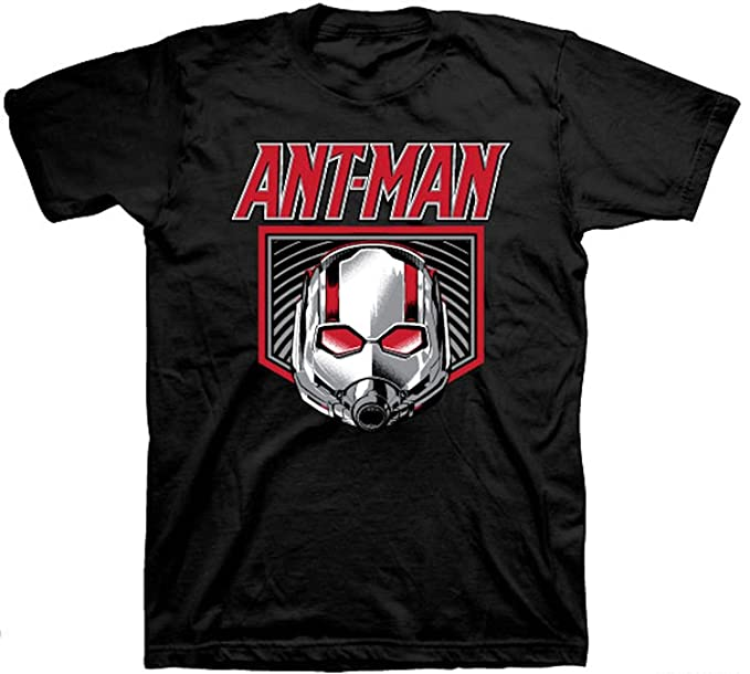 4325b75f1 Amazon.com: Marvel Ant-Man Logo Mens Black T-Shirt: Clothing