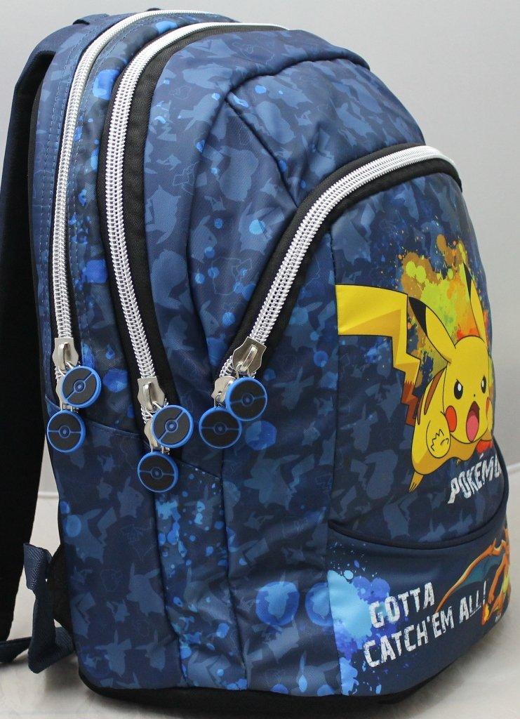 b0324ab6c7 ... Pokemon Zaino Round Round Round 3 Scomparti Scuola E Tempo Libero  4215ff ...