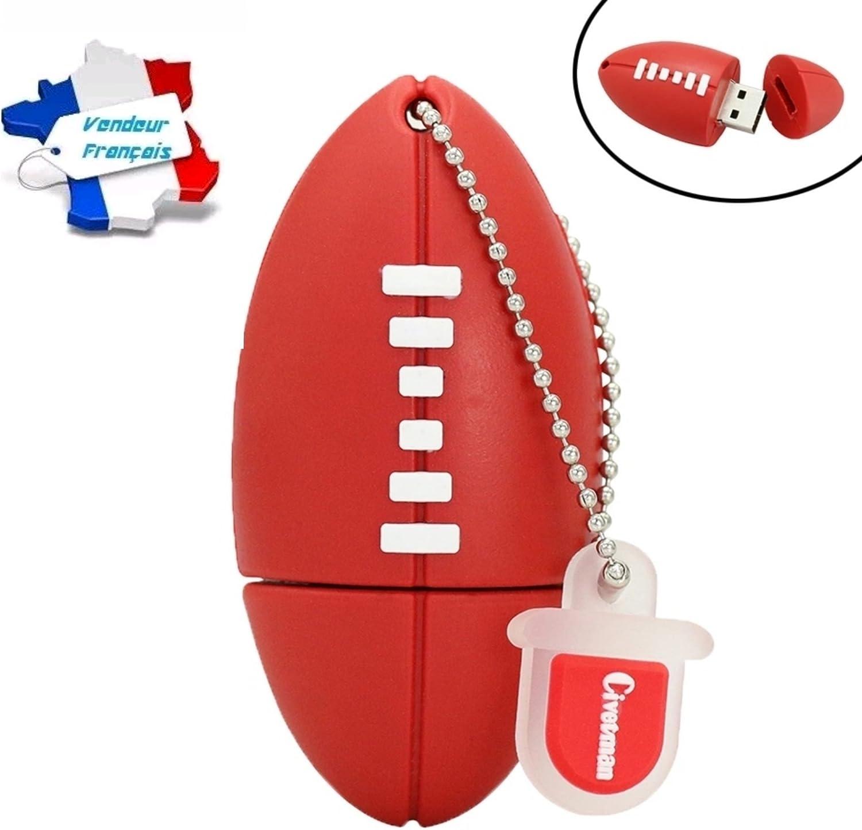 CLE USB de balón de Rugby capacidad 16 gb, y patines rápido 2 A 3 ...