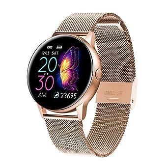 Mujeres Ip68 Reloj Inteligente a Prueba de Agua Bluetooth ...