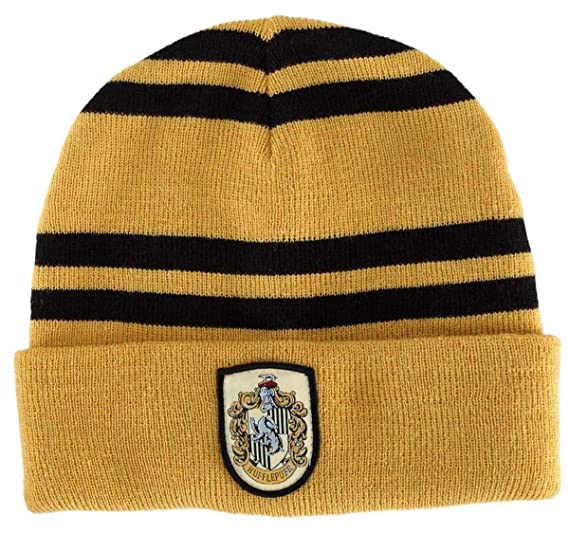 Amazon.com  elope Hufflepuff House Beanie  Clothing b019df7b5e6f