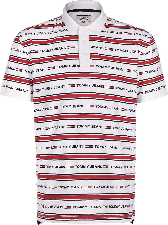 Tommy Jeans Stripe Polo: Amazon.es: Ropa y accesorios