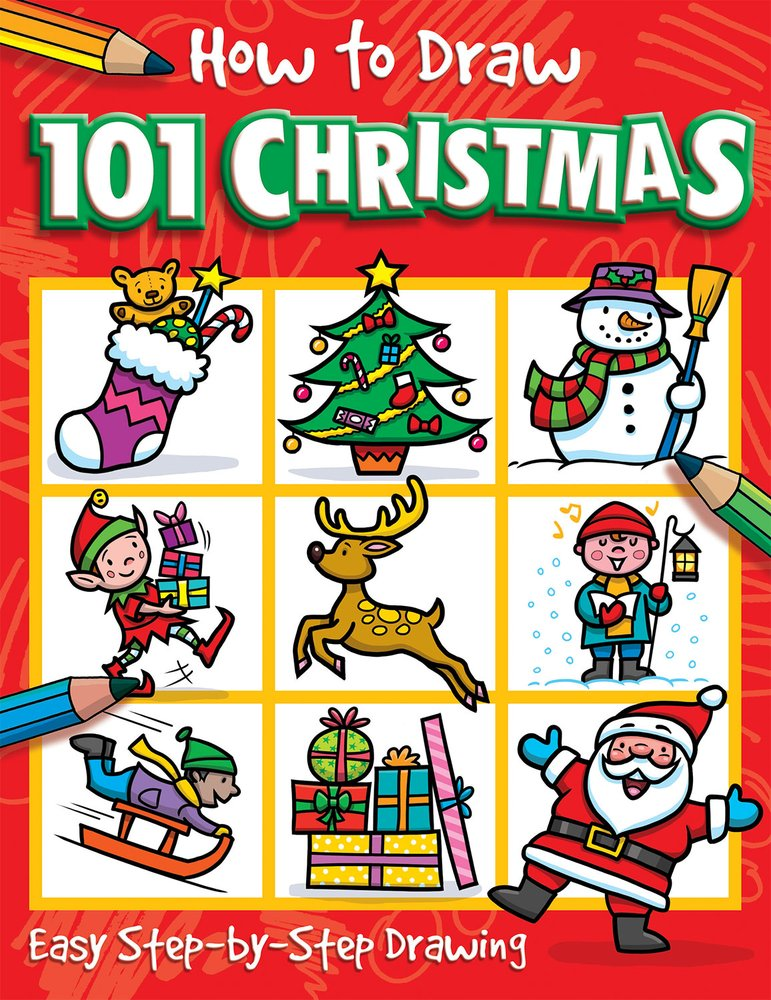 Buy How To Draw 101 Christmas Book Online At Low Prices In India How To Draw 101 Christmas Reviews Ratings Amazon In