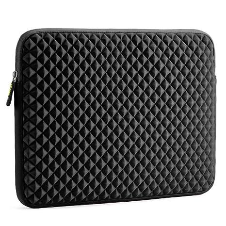 039def80e2 Evecase 15-15,6 pollici Custodia, Diamante Schiuma Neoprene Sleeve borsa per  Laptop