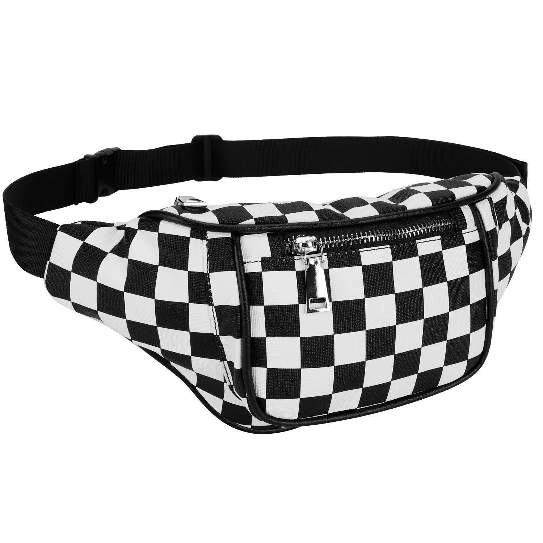 Dolores Fanny Pack Waist Bags for Women Men Fashion Belt Waist Bum Bag Hip Pack Water-Resistant Beach Travel Purse