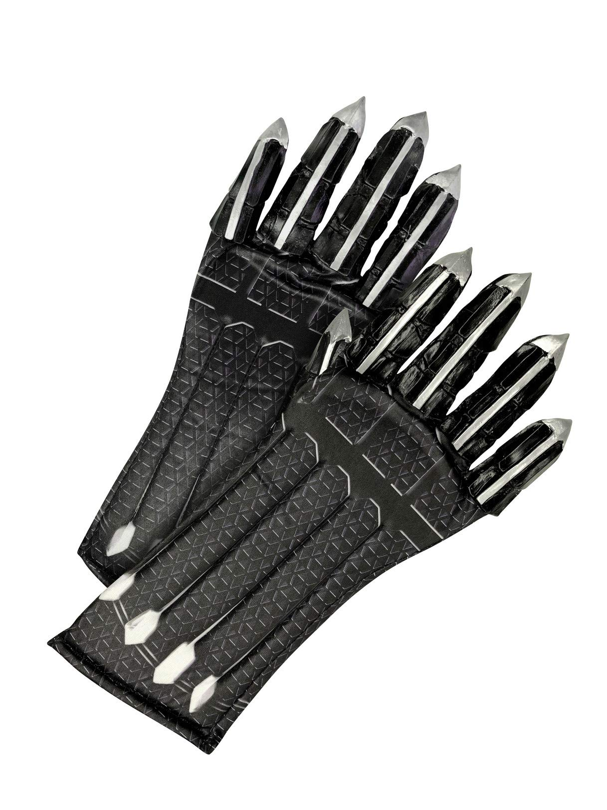 Rubie's Boys Black Panther Gloves Costume Accessory, As Shown, One Size