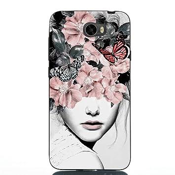 Weiche Glitter D/ünn Slim Klar Flexible Silikon Gummi TPU f/ür Huawei P20