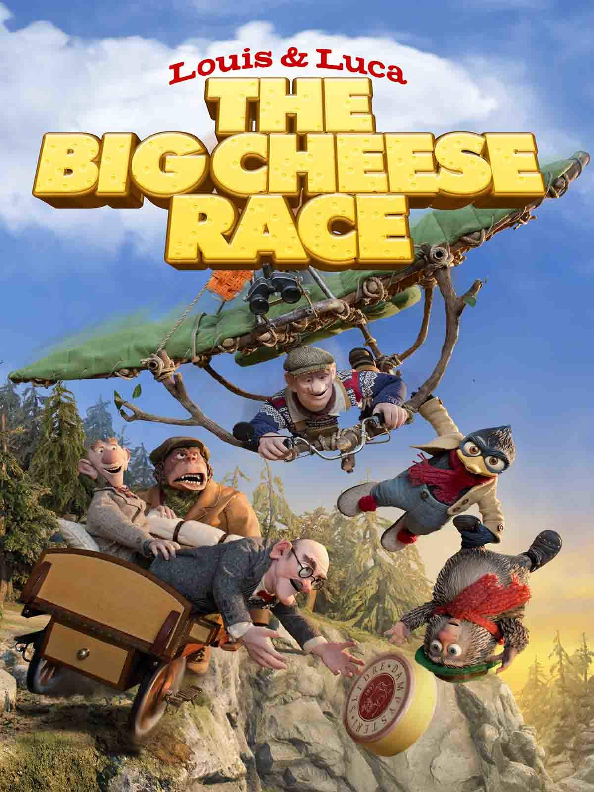Louis and Luca - The Big Cheese Race