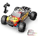 DEERC RC Cars 9310 High Speed Remote Control Car for Adults Kids 30+MPH, 1:18 Scales 4WD Off Road RC Monster Truck,Fast 2.4GH