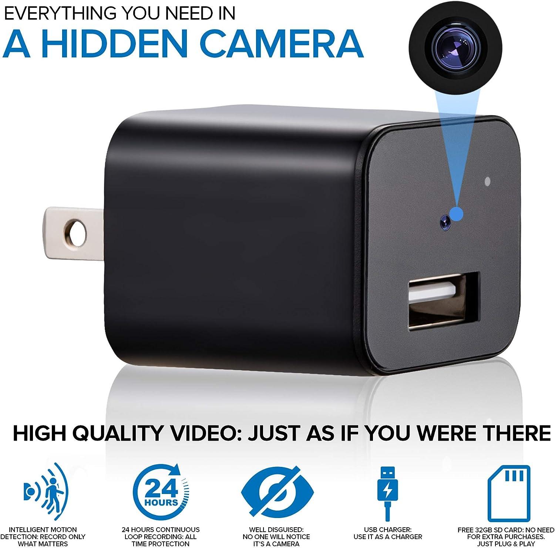 Hawfy HD 1080p Mini Hidden Camera Hidden Spy Camera Motion Detection Mini Camera Spy 24H Recording Mini Spy Hidden Camera Mini Spy Camera Wireless Hidden Loop Recording Spy Cam /& Spy Cameras