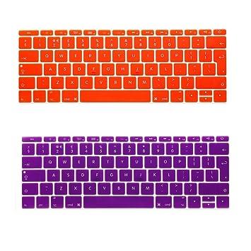 i-Buy - 2 fundas protectoras de silicona para teclado de MacBook Air 13 Pro